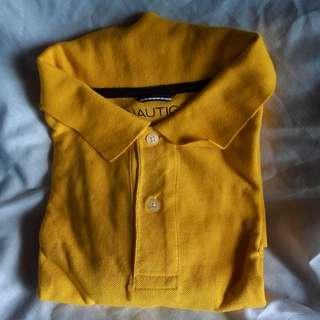 Nautica Yellow Shirt