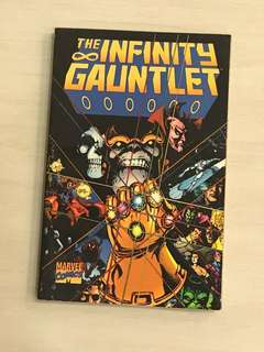 Marvel Infinity Gauntlet 6 comics in 1 edition (very good condition)