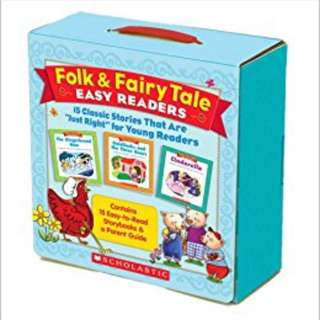 Scholastic - Folk & Fairy Tale Easy Readers
