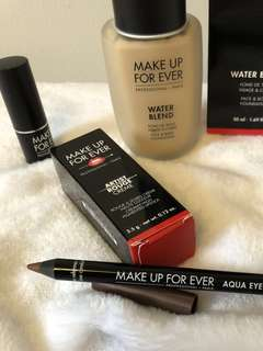 Makeup Forever Foundation, Lipstick, or Eyeliner