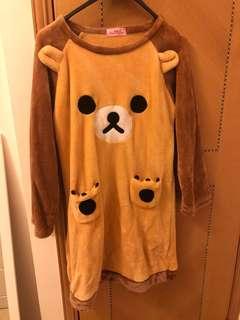 鬆弛熊睡衣