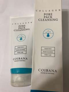 COIBANA Collagen Pore Pack Cleansing