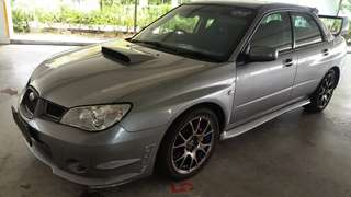 Subaru Wrx 2.0cc turbo