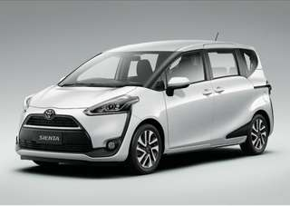 Toyota sienta for rent
