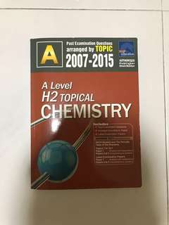 A Level Chemistry TYS 2007-2015