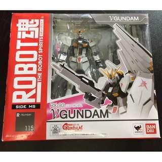 ROBOT魂 nu-GUNDAM ν-GUNDAM [SIDE MS] ニューガンダム