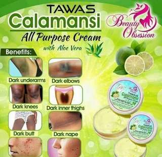 Tawas Calamansi All Purpose Cream 10g