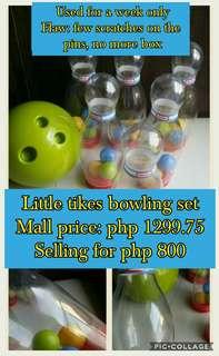 Price negotiable Little Tikes Bowling set
