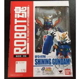 ROBOT魂 shining gundam 機動武闘伝Gガンダム [SIDE MS] シャイニングガンダム 約140mm ABS&PVC製 塗装済み可動フィギュア