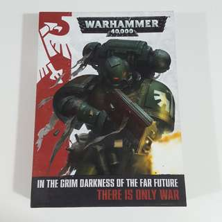 Warhammer 40,000: In The Grim Darkness of the Far Future [Hardcover, Box Set]