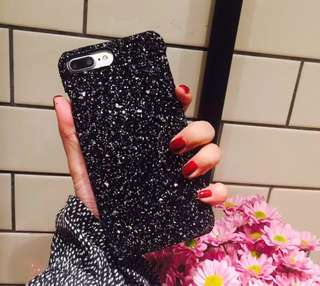 iPhone 6s PLUS glitter hard case