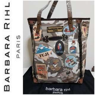"Barbara Rihl ""Shopping in Bahamas"" Coated Canvas Shopper"