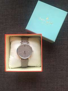 Kate Spade Metro quilted watch