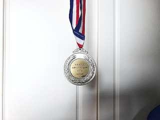 2000 大專賽銀牌
