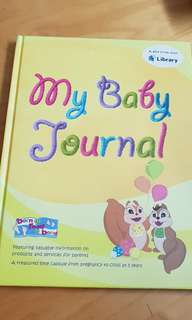 My Baby Journal (free with book purchase)