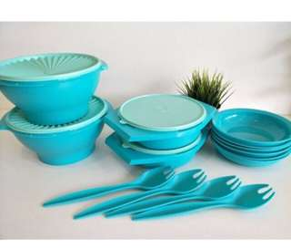 Tupperware joy keeper full set (14)