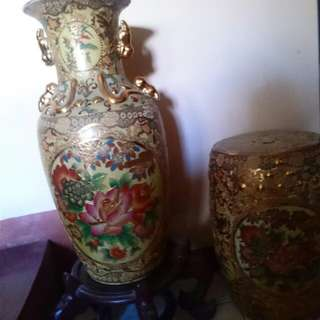 Oriental Jars For Sale , 2 pieces