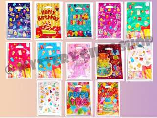 Party pack - fanciful Color / assorted design 10 pcs