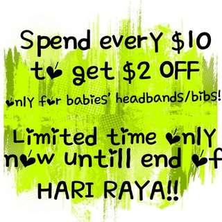 Spend every $10 to get $2 off promo!