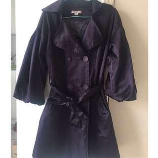 dark purple trend coat