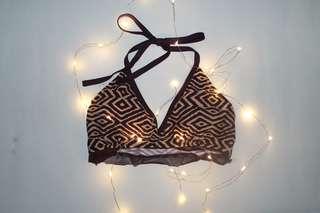 Pattern Bikini Top