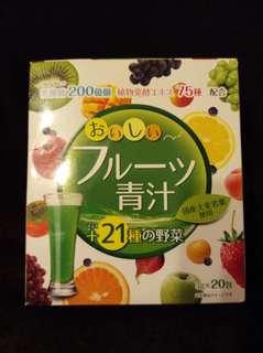 🚚 YUWA日本青汁+21種野菜(大麥若葉)