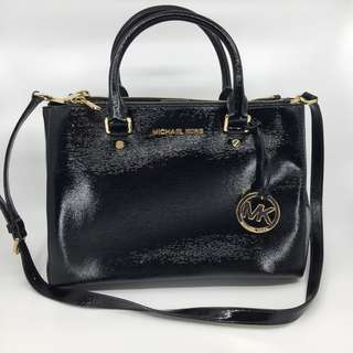 MICHAEL MICHAEL KORS Sutton medium Saffiano leather satchel