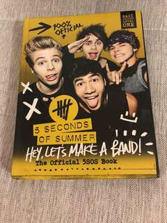 Official 5SOS Book (Hey, Let's Make A Band !)