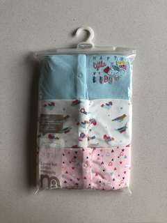 Mothercare 18-24M Footed Sleepsuits/Pyjamas for Baby Girl (3pcs Bundle)