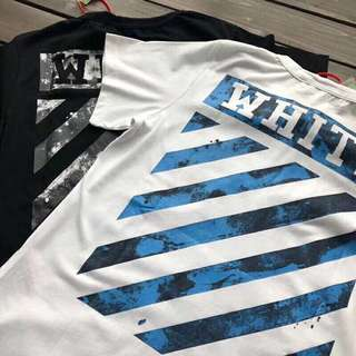 Off white tee in blj or white