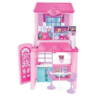 Barbie glam vacation doll house