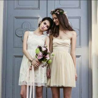 BNWOT Love Bonito Italian Rose Bridesmaids Collection Dress