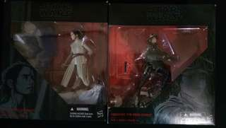 "Star Wars Black Series 6"" Jynn Erso And Rey"