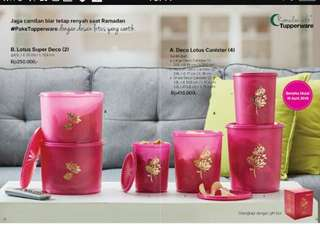 Tupperware diskon 50%