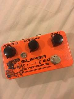 Catalinbread SCOD (super charged overdrive)
