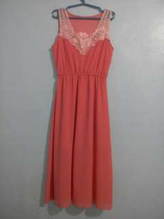 Chiffon maxi dress onhand