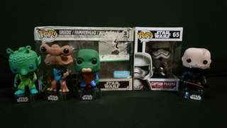 Star Wars Funko Pop Set