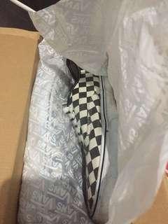 Vans Authentic checkerboard golden coast *reprice*