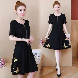 (L~5XL) 2018 Women's Fair Dress Dress