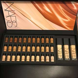 Nars radiant foundation armani Chanel Dior Estée Lauder estee la Mer Gucci laneige mac shiseido natural longwear palette