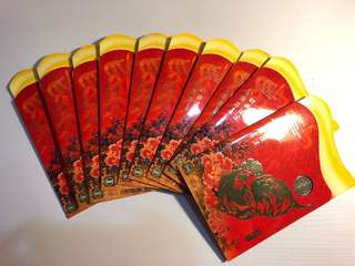 Bulk Sale- 10 sets Singapore 2005 Rooster Angbao coin set