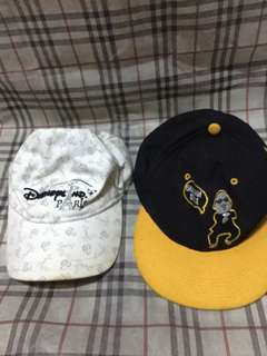 Buy 1 take 1 hats psy gangnam style hat and orig disneyland hat from paris