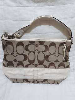 Repriced! Preloved Coach bag F13581