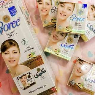 Goree soap and beauty cream set