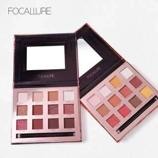 Focallure Sunset & Burning eyeshadow