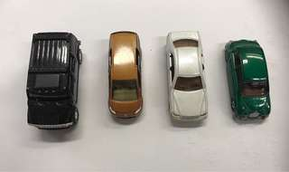 4 Retired Tomica