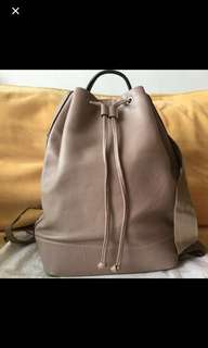 Authentic Rabeanco back pack in calf leather