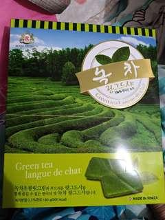 Royal premium 綠茶曲奇餅