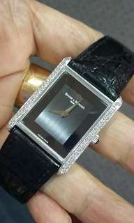 Baume Mercier 18k Solid White Gold With Diamond.