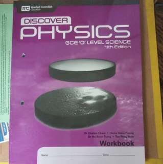 Discover Physics Workbook 4th edition